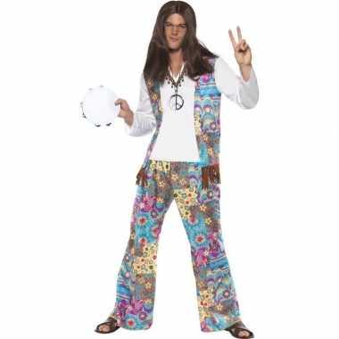 Jaren 60 hippie foute kleding groovy voor heren