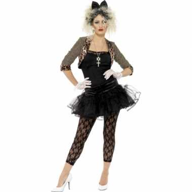 Jaren 80 foute kleding met petticoat