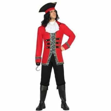 Kapitein piraat james pak/foute kleding voor heren