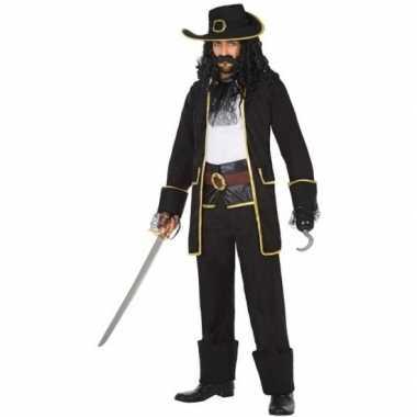Kapitein piraat thomas pak/foute kleding voor heren