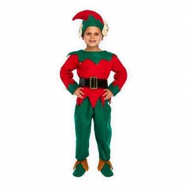 Kerstelf foute kleding voor kinderen
