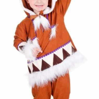 Kids eskimo foute kleding compleet
