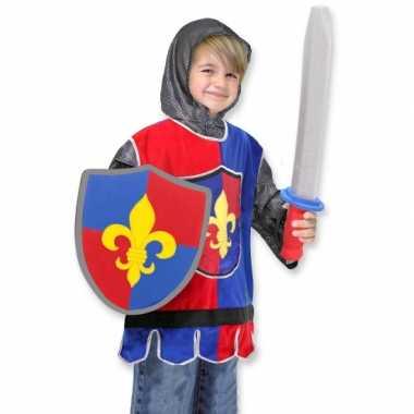 Kinder foute kleding ridder