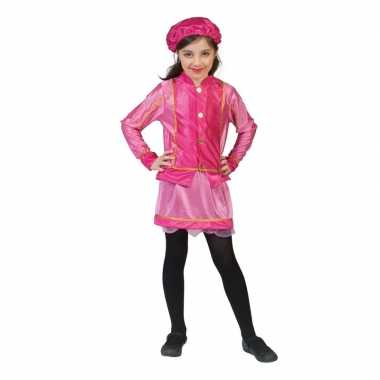 Kinder foute kleding roetveegpiet roze