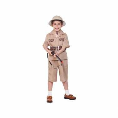 Kinder foute kleding safari