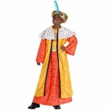 Kinder foute kleding wijzen uit het oosten geel