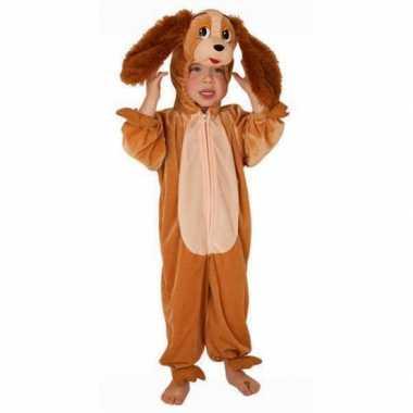 Kinder pluche honden foute kleding
