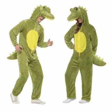 Krokodil onesie foute kleding voor volwassenen