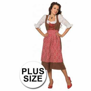 Lang tiroler grote maat foute kleding voor dames