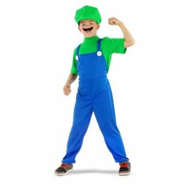 Loodgieter foute kleding groen voor jongens