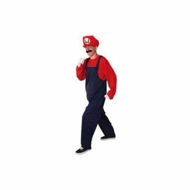 Loodgieter foute kleding rood voor heren