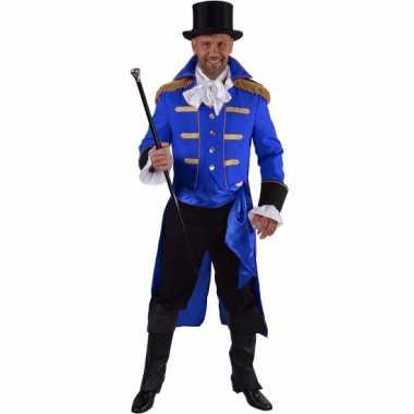 Luxe circus directeur foute kleding zwart voor heren