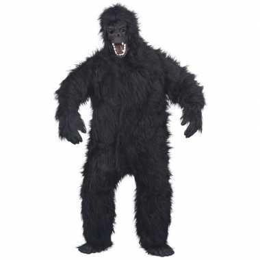 Luxe gorilla pak/foute kleding voor volwassenen