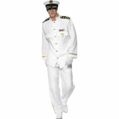 Luxe kapitein foute kleding voor heren