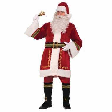 Luxe kerstman foute kleding voor heren