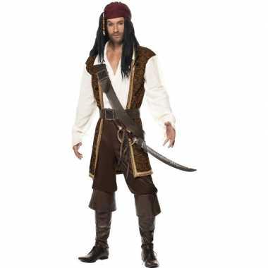 Luxe piraten foute kleding voor heren