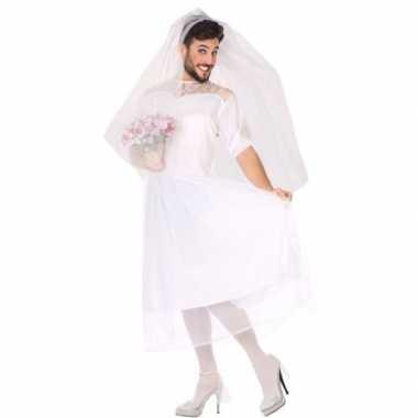 Man bruid fun foute kleding voor heren