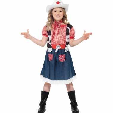 Meisjes cowboy foute kleding