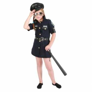 Meisjes politie jurk foute kleding