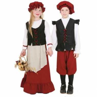 Middeleeuws meisjes foute kleding