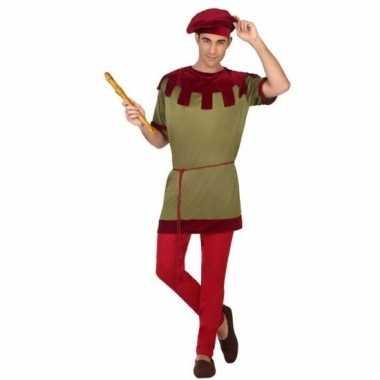 Middeleeuws page foute kleding voor heren