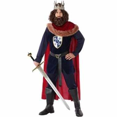 Middeleeuwse koning foute kleding voor heren