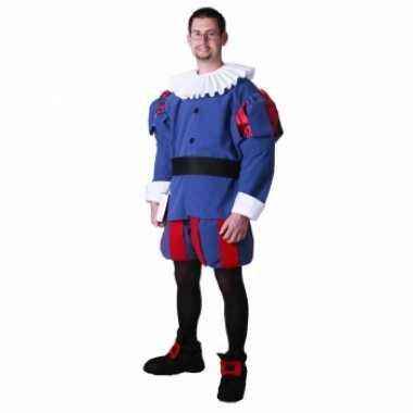 Middeleeuwse prins foute kleding voor heren