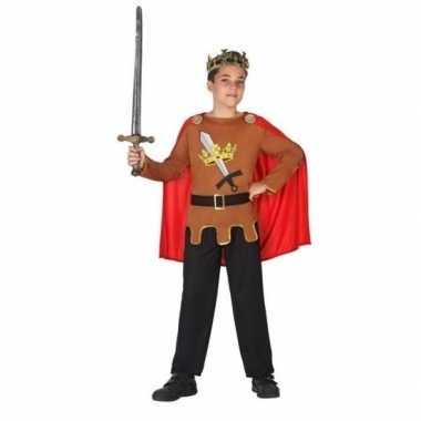 Middeleeuwse ridder/koning arthur foute kleding jongens