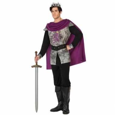Middeleeuwse ridder/koning foute kleding voor heren