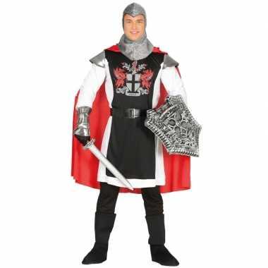Middeleeuwse ridder met cape foute kleding voor heren
