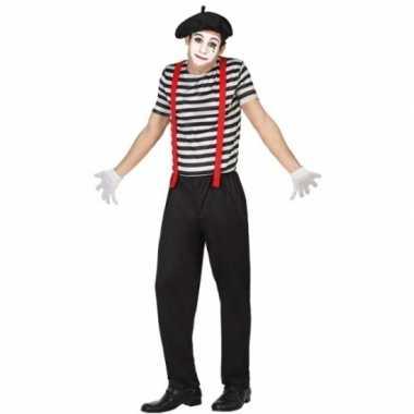 Mime clowns heren foute kleding
