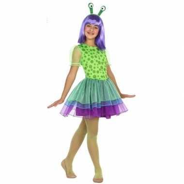 Neon alien foute kleding voor meisjes