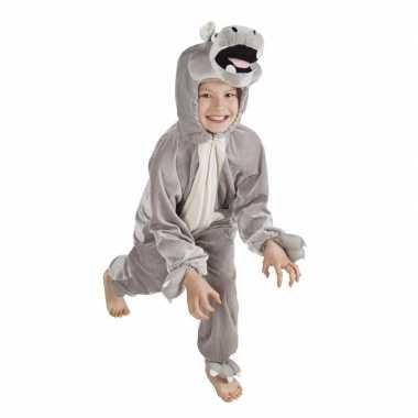Nijlpaard foute kleding voor kinderen