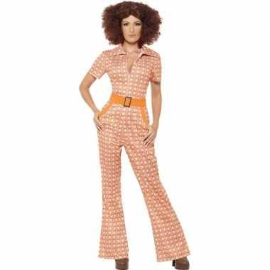 Oranje jaren 70 foute kleding voor dames