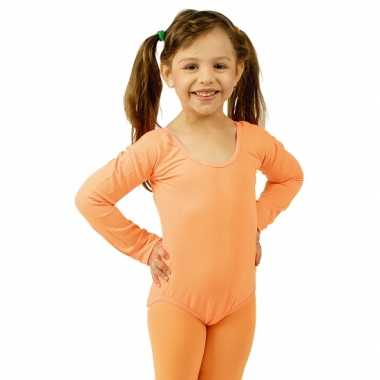 Oranje kinder ballet foute kleding