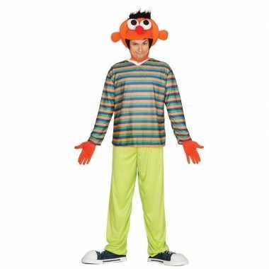Oranje pop ernie foute kleding voor heren