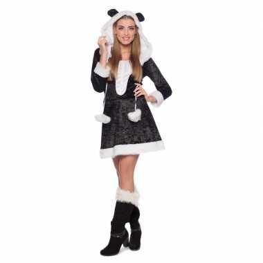 Panda dierenfoute kleding jurkje voor dames