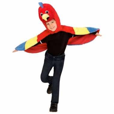 Papegaai foute kleding voor peuters