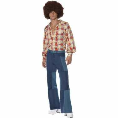 Patchwork jaren 70 foute kleding voor heren
