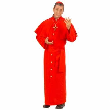 Paus foute kleding rood