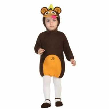 Peuter foute kleding aap