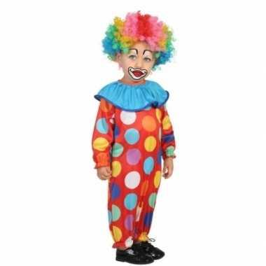 Peuter foute kleding clown