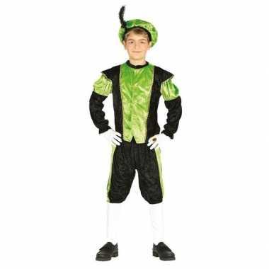 Pieten foute kleding zwart/groen voor jongens/meisjes