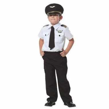 Piloot foute kleding voor jongens
