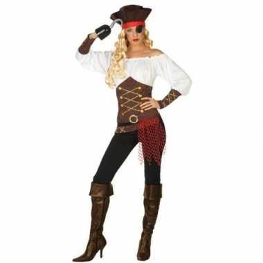 Piraat agatha pak/foute kleding voor dames