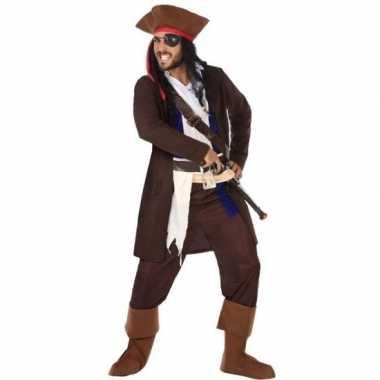 Piraat christopher pak/foute kleding voor heren