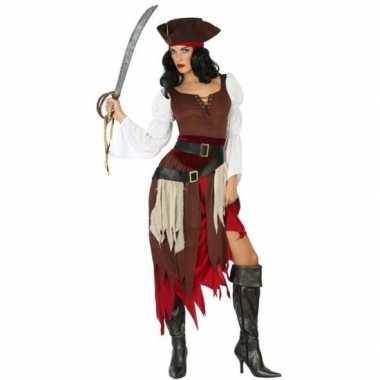 Piraat francis pak/foute kleding voor dames