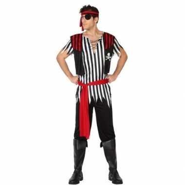 Piraat jack pak/foute kleding voor heren