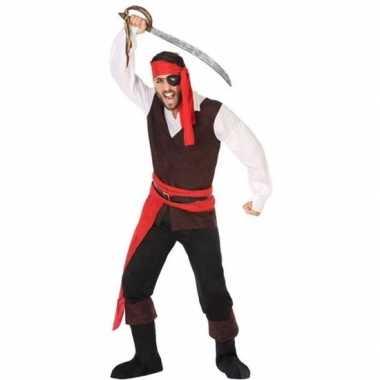 Piraat john pak/foute kleding voor heren