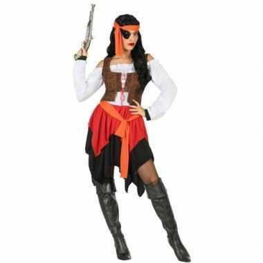 Piraat mary pak/foute kleding voor dames